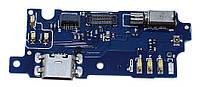 Шлейф разъема зарядки Meizu M3