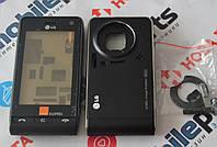 Корпус для телефона LG KU990i + Сенсор (Тачскрин) в сборе (Качество ААА) (Черный) Распродажа!