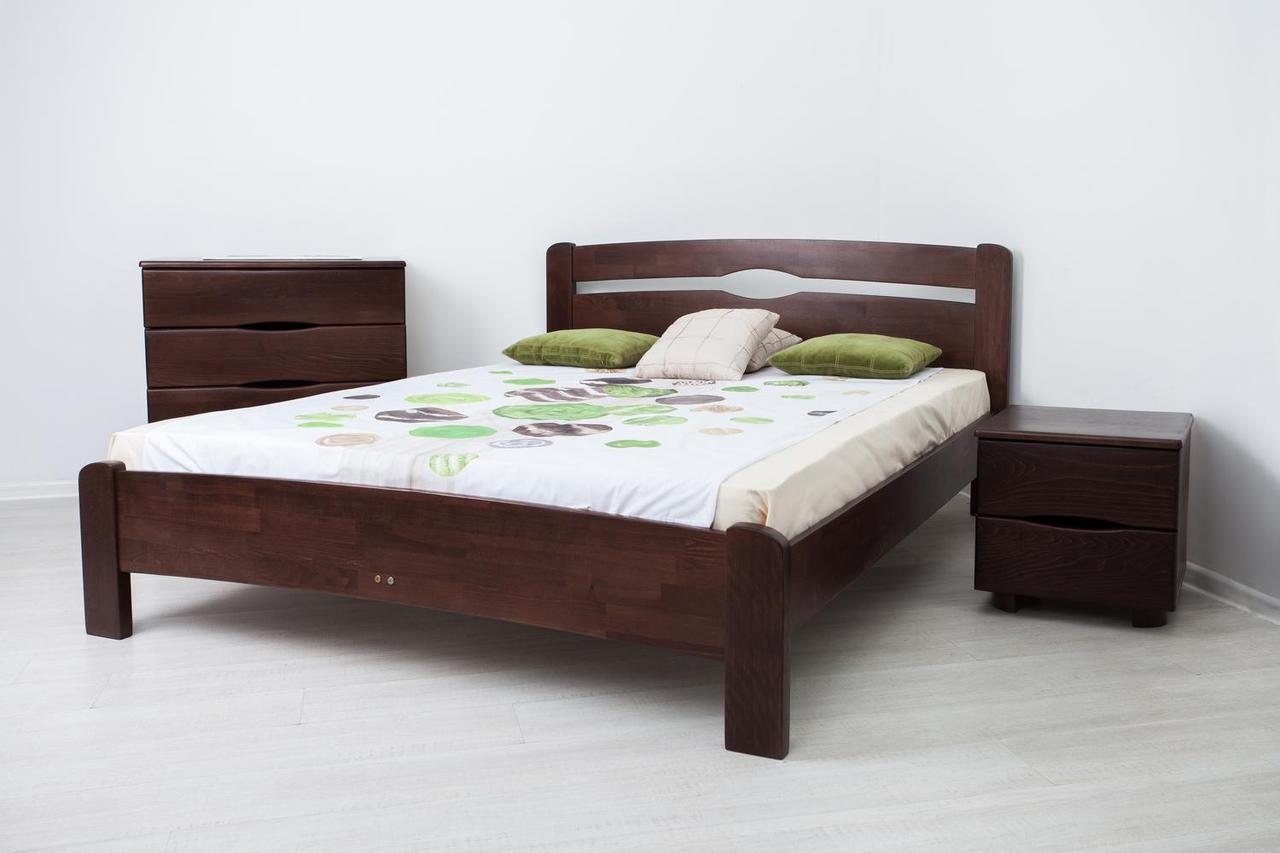 """Деревянная кровать Олимп из бука """"Нова без изножья"""""""
