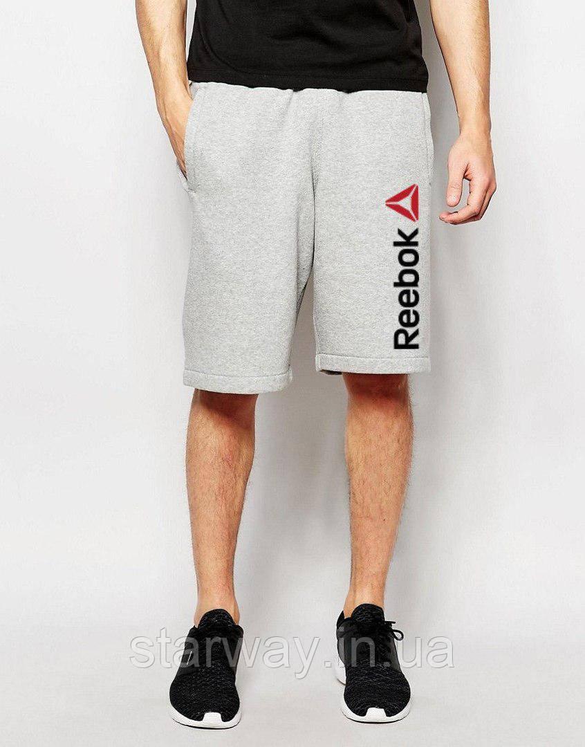 Шорты стильные | Принт Reebok logo