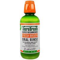TheraBreath, Свежее дыхание, ополаскиватель для полости рта, легкая мята, 16 жидких унций (473 мл)