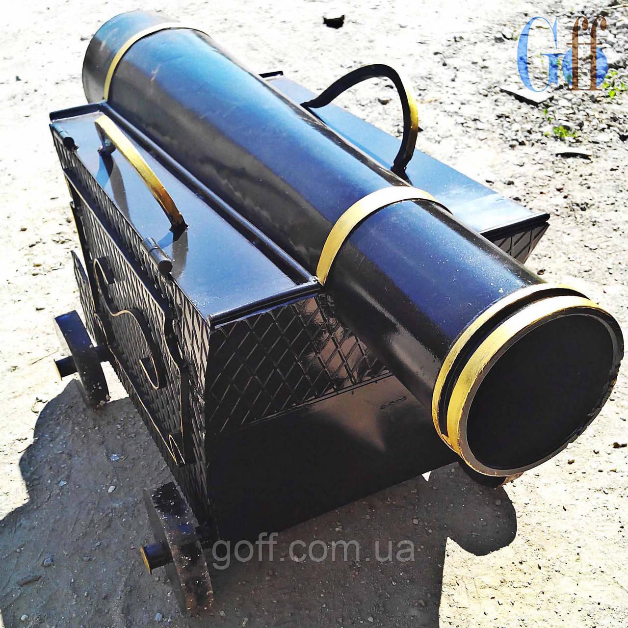 Мангал Пушка