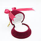 Футляр для кольца Колокол бордо, фото 3