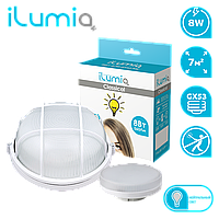 Светильник Ilumia 096 ML-8-IP65-wh c лампой GX53, 8Вт, 4000 К