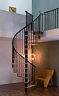 Винтовая лестница MINKA SPIRAL Effect Ø120см черный Австрия