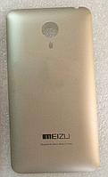 Задняя золотая крышка для Meizu MX4
