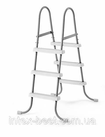Лестница для бассейна Intex 58973/28065 (107 см.), фото 2