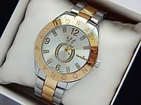 Женские часы Pandora комбинированного цвета  cо стразами на логотипе, фото 1