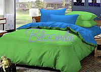 Ткань для постельного белья поплин однотонный L-0146 green