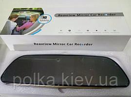 """Зеркало видеорегистратор GPS 3G Wi-Fi экран 7"""" Сенсорный 2 Камеры"""