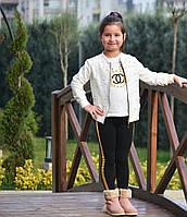 Стильный костюм Chanel на девочку  5-6 лет