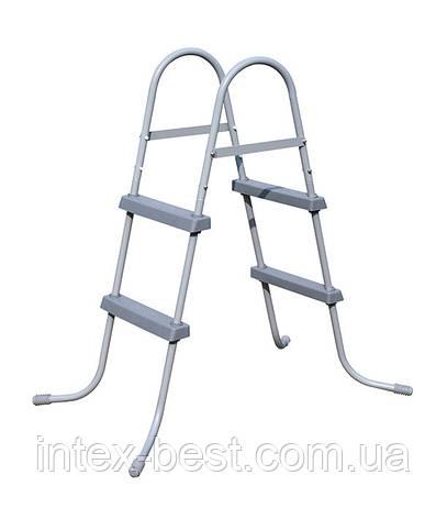 58430 BW Лестница для бассейнов до 84см, 2 ступеньки, без площадки, фото 2