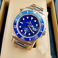 Часы мужские наручные Rolex Submariner (синие) ролекс субмаринер