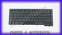 Клавиатура для ноутбука ASUS (A3(A/E/H/F/V), A4, A4000, A7, F5, G2, M9, R20, X50, Z8, Z8000), rus, black, шлейф вправо