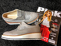 Женские туфли 62055 Grey