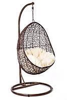 Кокон кресло ротанг Bacoli brown/кокон крісло коричневе