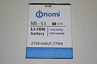Оригинальный аккумулятор NB-53 для Nomi i502 Drive 2100mAh
