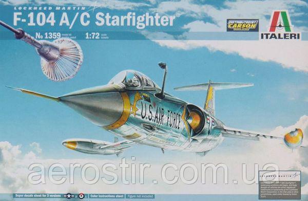 F-104A/C Starfighter,1/72 Italeri 1359