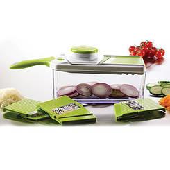 Терка кухонная многофункциональная, 5 насадок  Maestro MR-1600