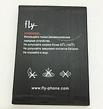 Оригінальний акумулятор (АКБ, батарея) Fly BL8010 для FS501 Nimbus 3, фото 2