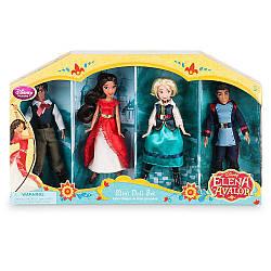 Елена принцесса из Авалора набор 4 мини кукол ДИСНЕЙ / DISNEY