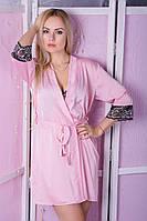 Халат MiaNaGreen Х412н Розовый