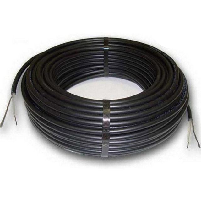 Обігрів покрівлі та водостічних труб нагрівальний одножильний кабель PROFI THERM (Eko плюс) 23 - 2675 Вт.