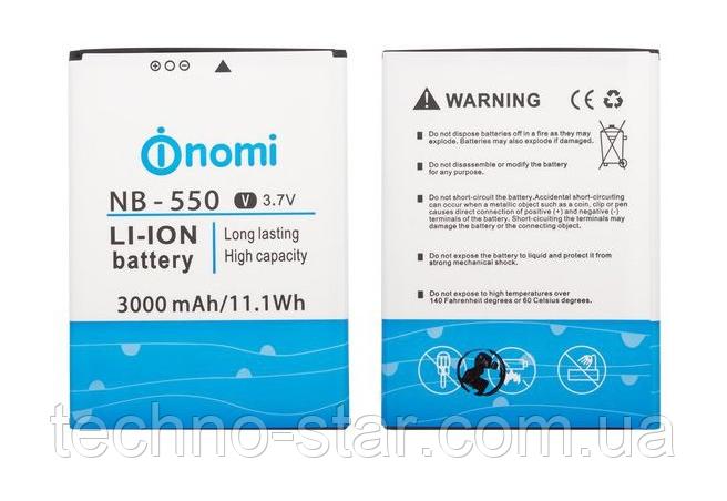 Оригінальний акумулятор NB-550 для Nomi i550 Space 3000mAh