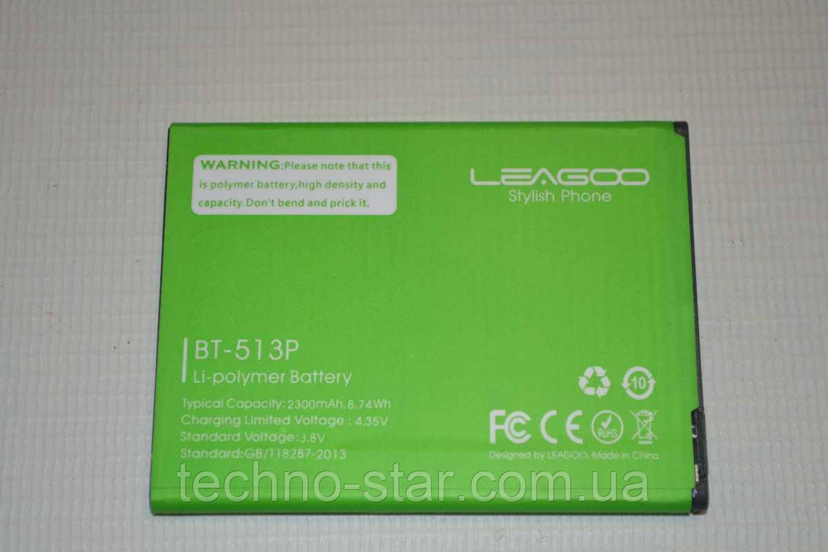 Оригинальный аккумулятор ( АКБ / батарея ) BT-513P для Leagoo M5 2300mAh