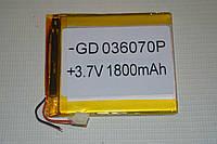 Универсальный аккумулятор (АКБ, батарея) для китайских телефонов 3.7V 1800mAh (3.0*60*70mm)