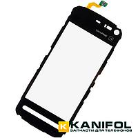 Тачскрин (сенсор) Nokia 5800 XpressMusic (RM-428) Черный