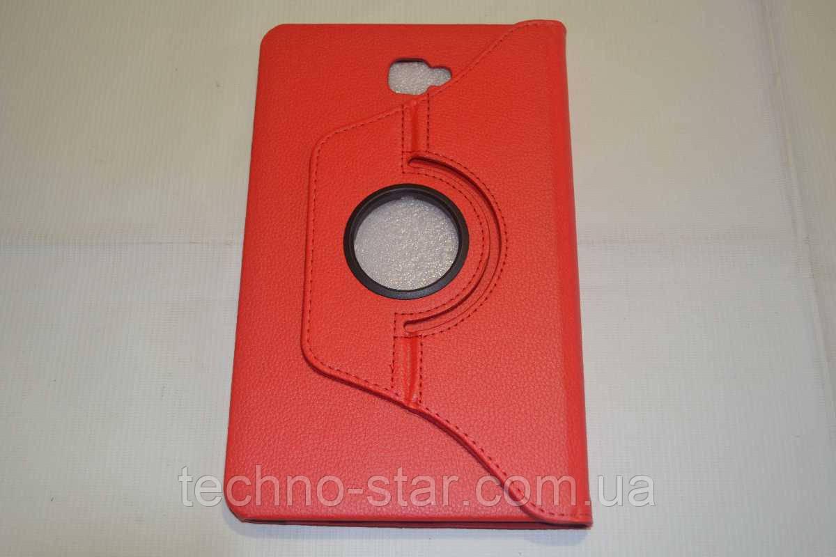 Поворотний на 360° чохол-книжка Samsung Galaxy Tab A 10.1 2016 T580   T585 (червоний колір)