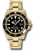 Часы мужские наручные Rolex Submariner (черные ролекс)
