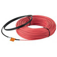 Теплый пол In-therm eco двужильный греющий кабель 550 Вт 3,2 м кв, фото 1