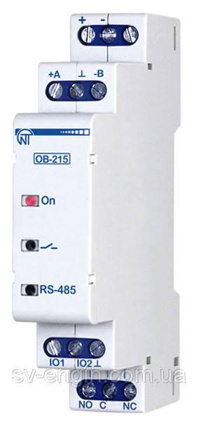 Уже в продаже! OB-215 — цифровой модуль ввода-вывода
