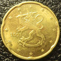 20 євроцентов Финляндия 2001г.