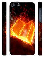 Чехол для iPhone 4/4s/5/5s/5с, Книга огненная