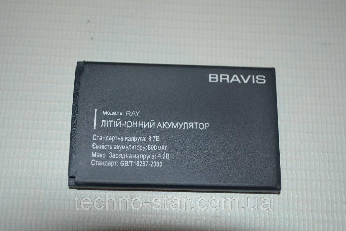 Оригинальный аккумулятор (АКБ, батарея) для Bravis Ray 800mAh