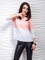 Блуза с кружевом женская  (42-48), доставка по Украине