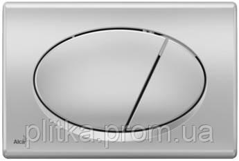 Панель смыва ALCA PLAST M72 хром/матовый