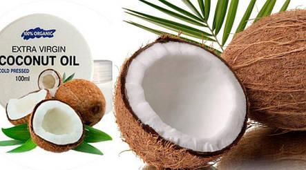 Extra Virgin Coconut Oil - Кокосове масло для омолодження шкіри обличчя і тіла, фото 2