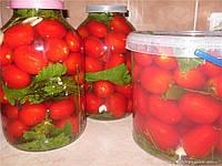 Ведро пищевое прозрачное с крышкой 10 л., фото 1