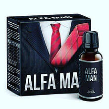 Alfa Man - Краплі для підвищення потенції (Альфа Мен)