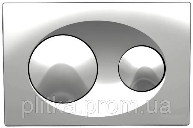 Панель смыва KOLLER POOL Grace Chrome, фото 2