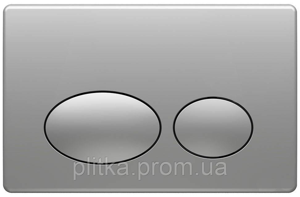 Панель смыва KOLLER POOL Round Matt Chrome