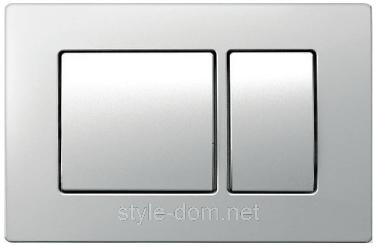 Панель смыва KOLLER POOL Kvadro Matt Chrome