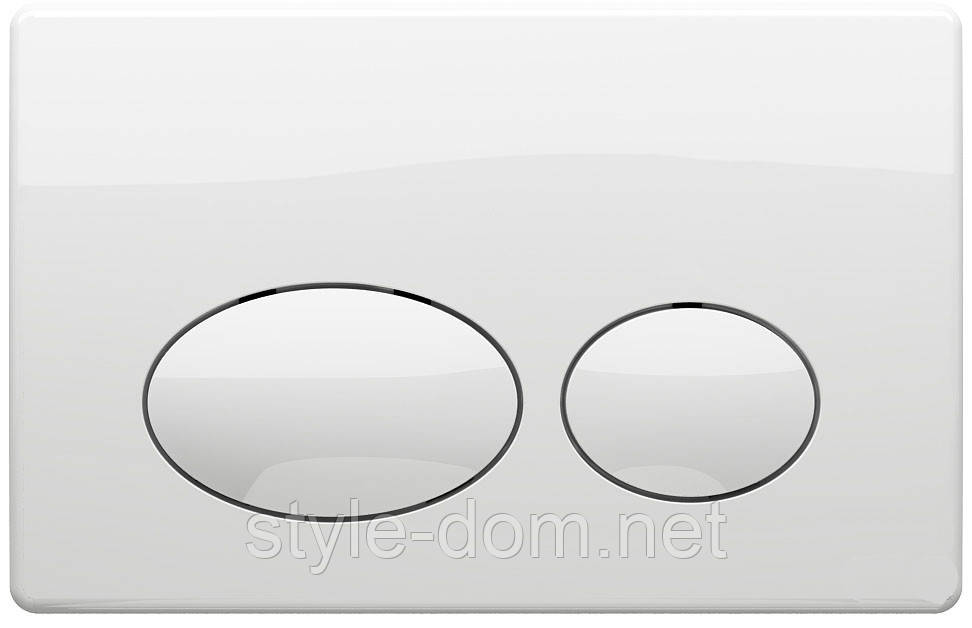 Панель смыва KOLLER POOL Round White