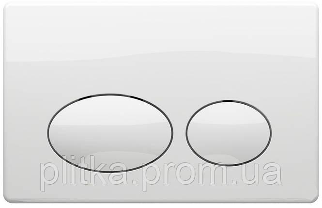Панель смыва KOLLER POOL Round White, фото 2