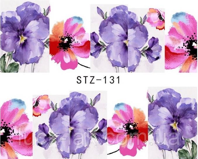 Водные наклейки слайдер-дизайн STZ-131