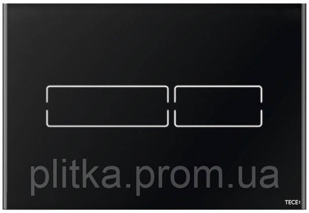 Панель смыва TECE TECElux Mini сенсорная Glass Black 9240961